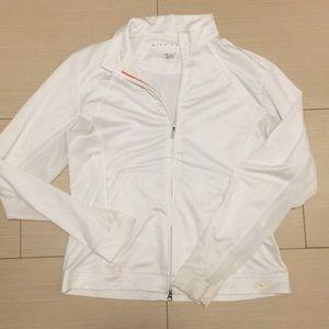 White Nike Golf Jacket